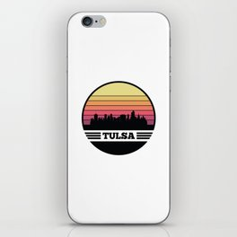 Tulsa Skyline iPhone Skin