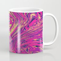 psychedelic Mugs featuring Psychedelic by Idle Amusement