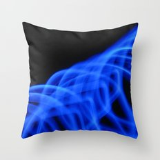 Nothing But Blue #2 Throw Pillow