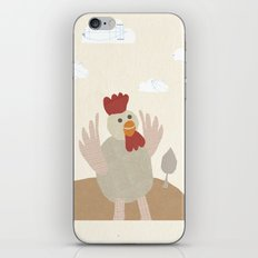 rooster collage iPhone & iPod Skin