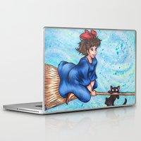 kiki Laptop & iPad Skins featuring Kiki by Kimberly Castello