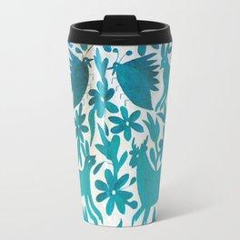 Otomi Cyan Travel Mug