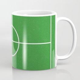 Football Pitch Coffee Mug