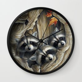 """""""Cocooning"""" by Claude Thivierge Wall Clock"""