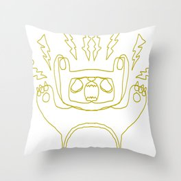 Bear Boy Throw Pillow