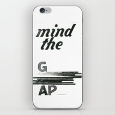 mind the gap iPhone & iPod Skin