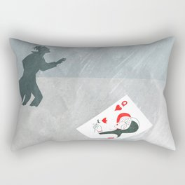 Now, that's cold! Rectangular Pillow