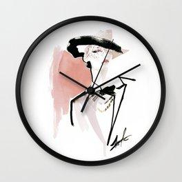 Dame Wall Clock