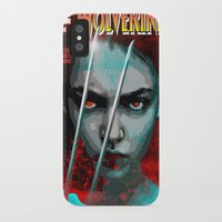 book cover iPhone & iPod Cases featuring Comic Book Cover by iArtMike