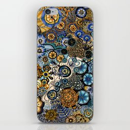 Growth in 3 Directions iPhone Skin
