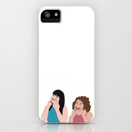 Broad City Smile iPhone Case