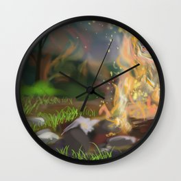 Embers Wall Clock