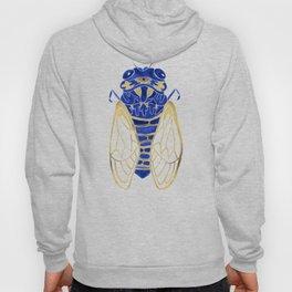 Cicada – Navy & Gold Hoody