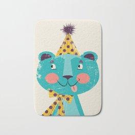 Blue-beary Bath Mat