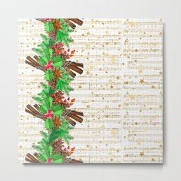 Christmas pine cones #3 Metal Print