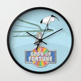 Goon of Fortune Wall Clock