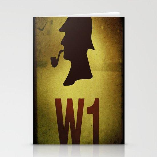 Hey Sherlock ! Stationery Cards