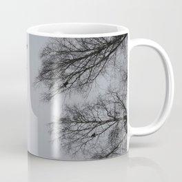 Winter Crows Coffee Mug