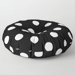 Polkadot (White & Black Pattern) Floor Pillow