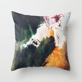 Abstract C6 Throw Pillow