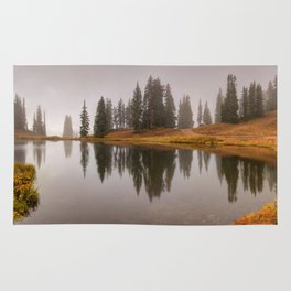 Colorado Fall Colors Panorama Rug