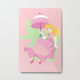 Turnip Princess Metal Print