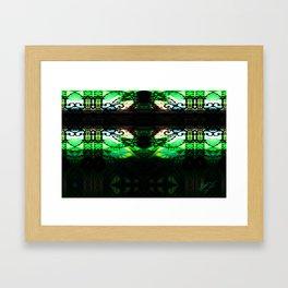"""""""we exchanged pleasantries"""" Framed Art Print"""