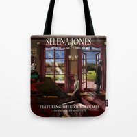 selena Tote Bags featuring Selena Jones & Sherlock Holmes: Trial and Error by J.A.'s Arts