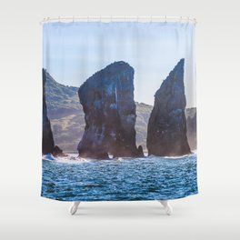 Kamchatka, Three brothers Shower Curtain