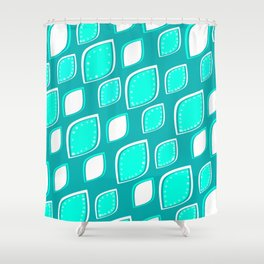 Mint leaves Shower Curtain