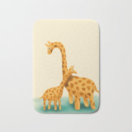 Giraffes Bath Mat