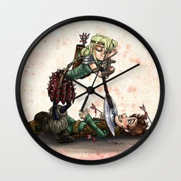 You're Mine Wall Clock