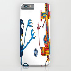 Two monsters playing football Slim Case iPhone 6s