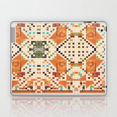 Orange poem Laptop & iPad Skin