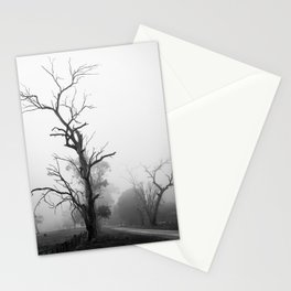 Haunted trees Stationery Cards