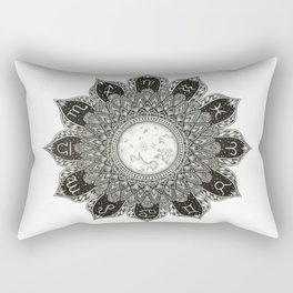 Astrology Signs Mandala Rectangular Pillow