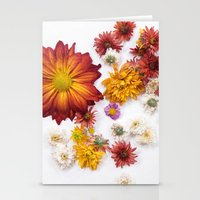 leah flores Stationery Cards featuring FLORES by Miles of Light