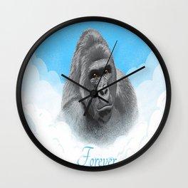 Harambe Forever. Wall Clock