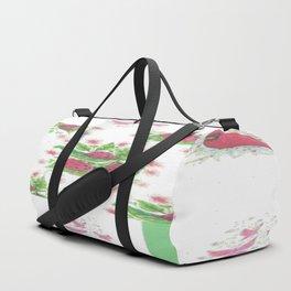 Cardinal Ladybug Pattern Duffle Bag