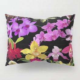 Orchids Galore Pillow Sham