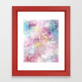 Outside The Rain Framed Art Print