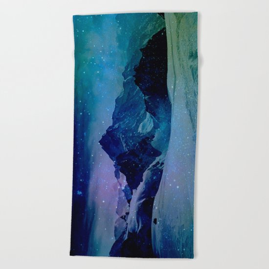 Enchanted Mountain Beach Towel
