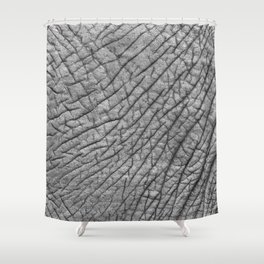 Elephant skin Shower Curtain