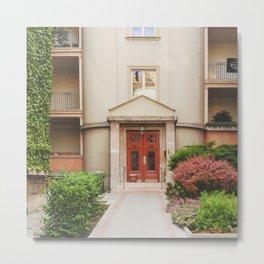Springtime Doorway Metal Print