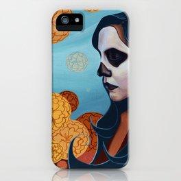 Marigolds, Day of the Dead (Dia de los Muertos) iPhone Case
