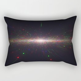 Spacetime Rectangular Pillow