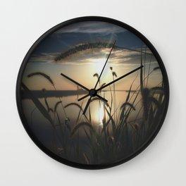 Through the Tall Grass Wall Clock