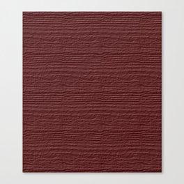 Apple Butter Wood Grain Color Accent Canvas Print
