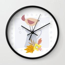 Fall Time Wall Clock