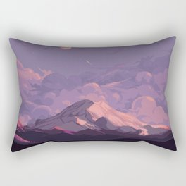 Mt Rainier Rectangular Pillow